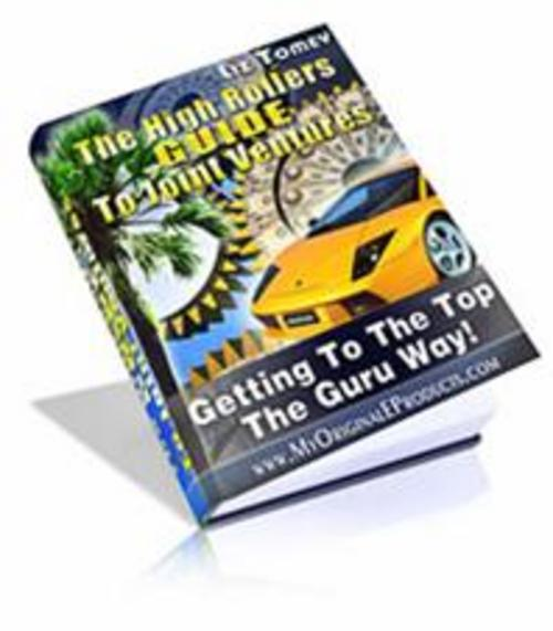 Product picture The High Rollers Guide To Joint Ventures - MRR included!