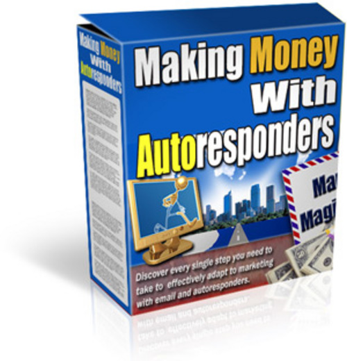 Product picture Making Money With Autoresponders - MRR
