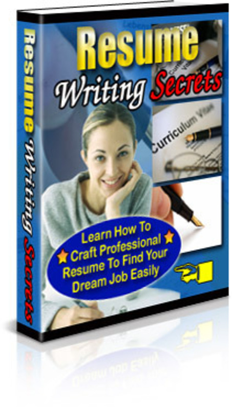 Product picture Resume Writing Secrets